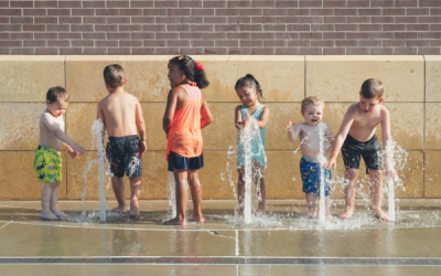 How to keep children cool this Summer with water play