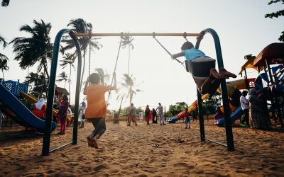 Safe landings: How to choose the best surface material for your playground